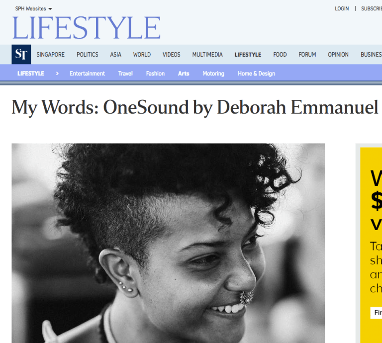 Deborah Emmanuel One Sound