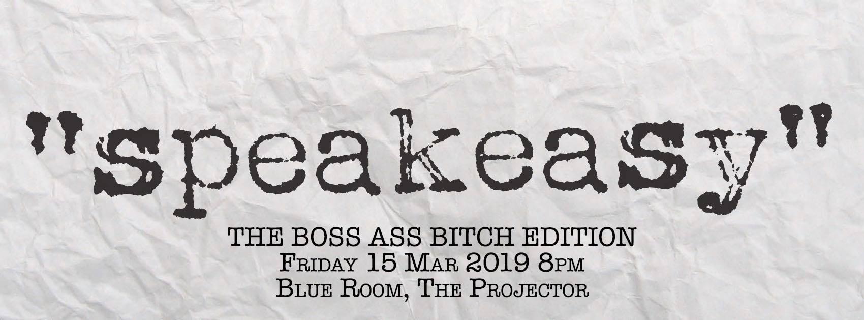 speakeasy boss ass bitch edition deborah emmanuel
